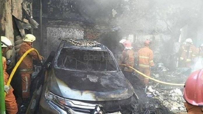 Mitsubishi Pajero Sport terbakar di Sidoarjo, ini klarifikasi PT MMKSI