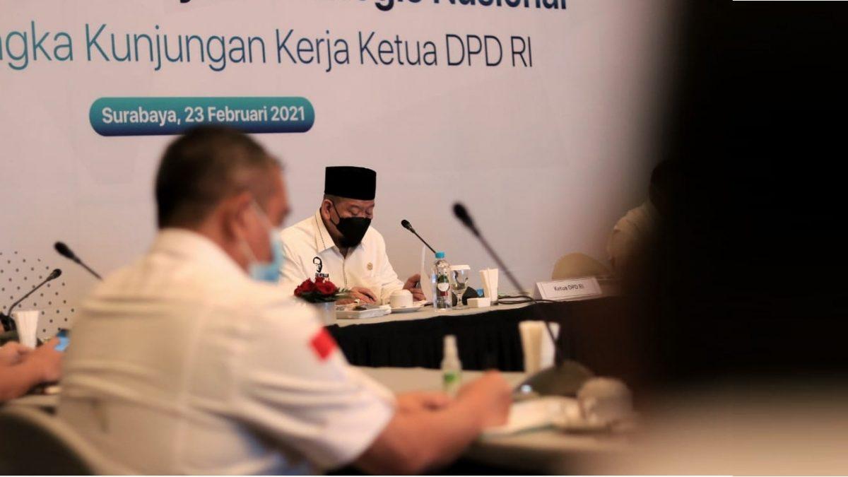 Gencar pembangunan, Ketua DPD RI minta pembebasan lahan berlaku adil