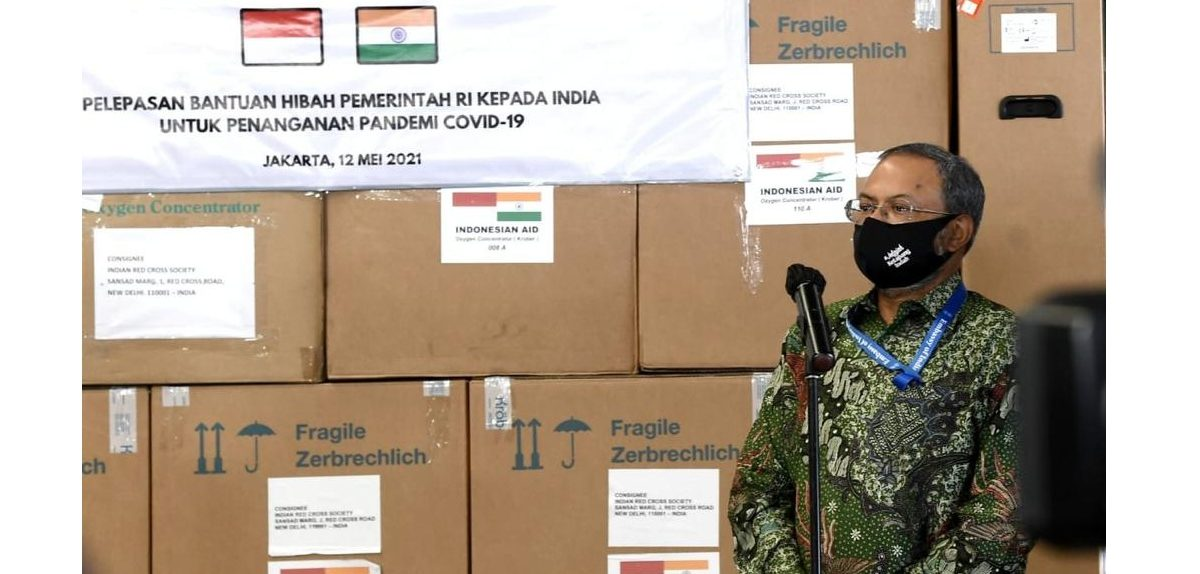 India apresiasi bantuan penanganan COVID-19 dari Indonesia