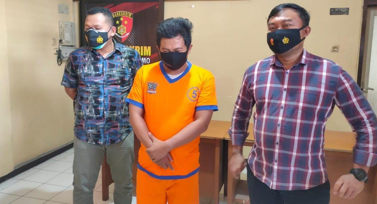 Tuduh korban sebagai pelaku penganiayaan, tukang rombeng perampas Hp diringkus polisi